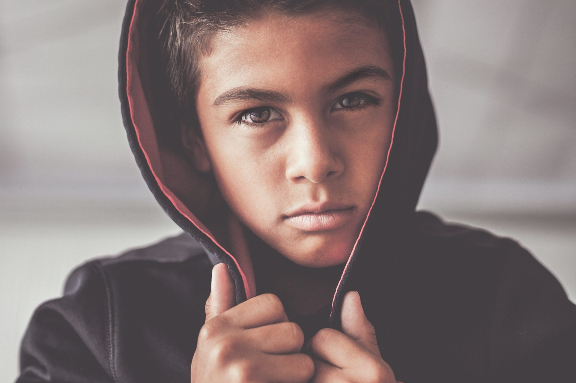 young teen boy